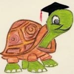 Schildkröte - Lehrer*innen-Symbol