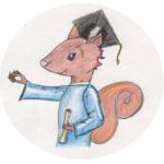 Eichhörnchen - Schüler*innen-Symbol