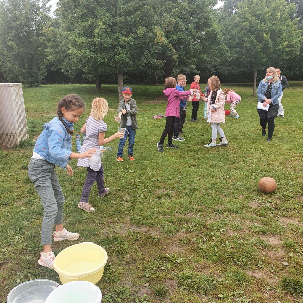 Wasser und Sport